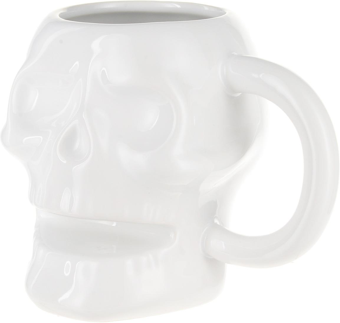 Кружка Balvi Skully, цвет: белый, 320 мл недорго, оригинальная цена