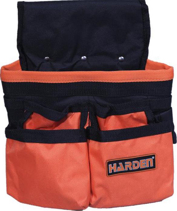 Фото - Сумка-пояс для инструментов Harden, 520501, водонепроницаемая ящик для инструментов harden 520224 36 см