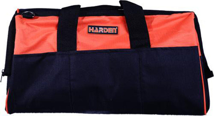 Фото - Сумка для инструментов Harden, 520502, усиленная, водонепроницаемая, 40 см ящик для инструментов harden 520224 36 см