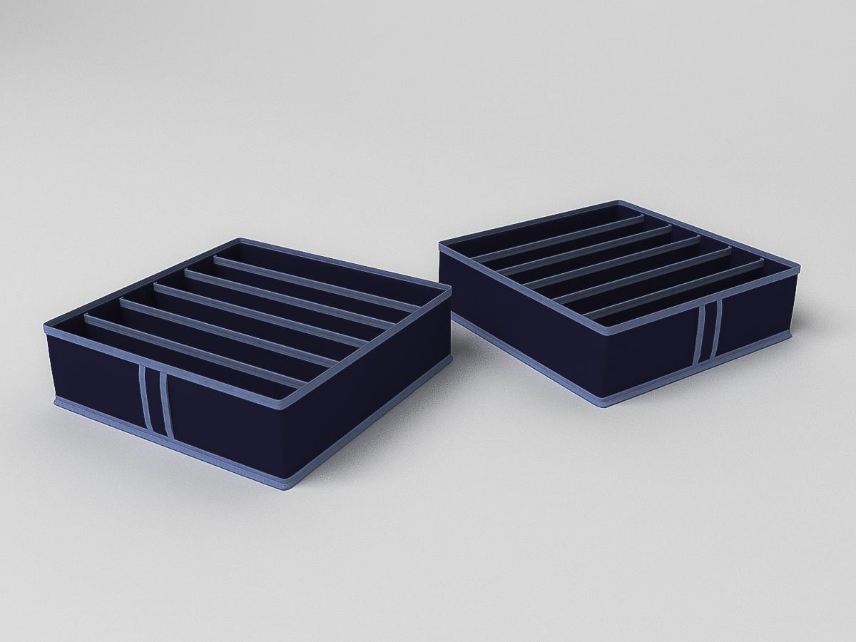 Чехол Камея, ch23синий, синий, 35*35*10 см аксессуар чехол для нижнего белья cofret 35x16x10cm 6 ячеек 1524