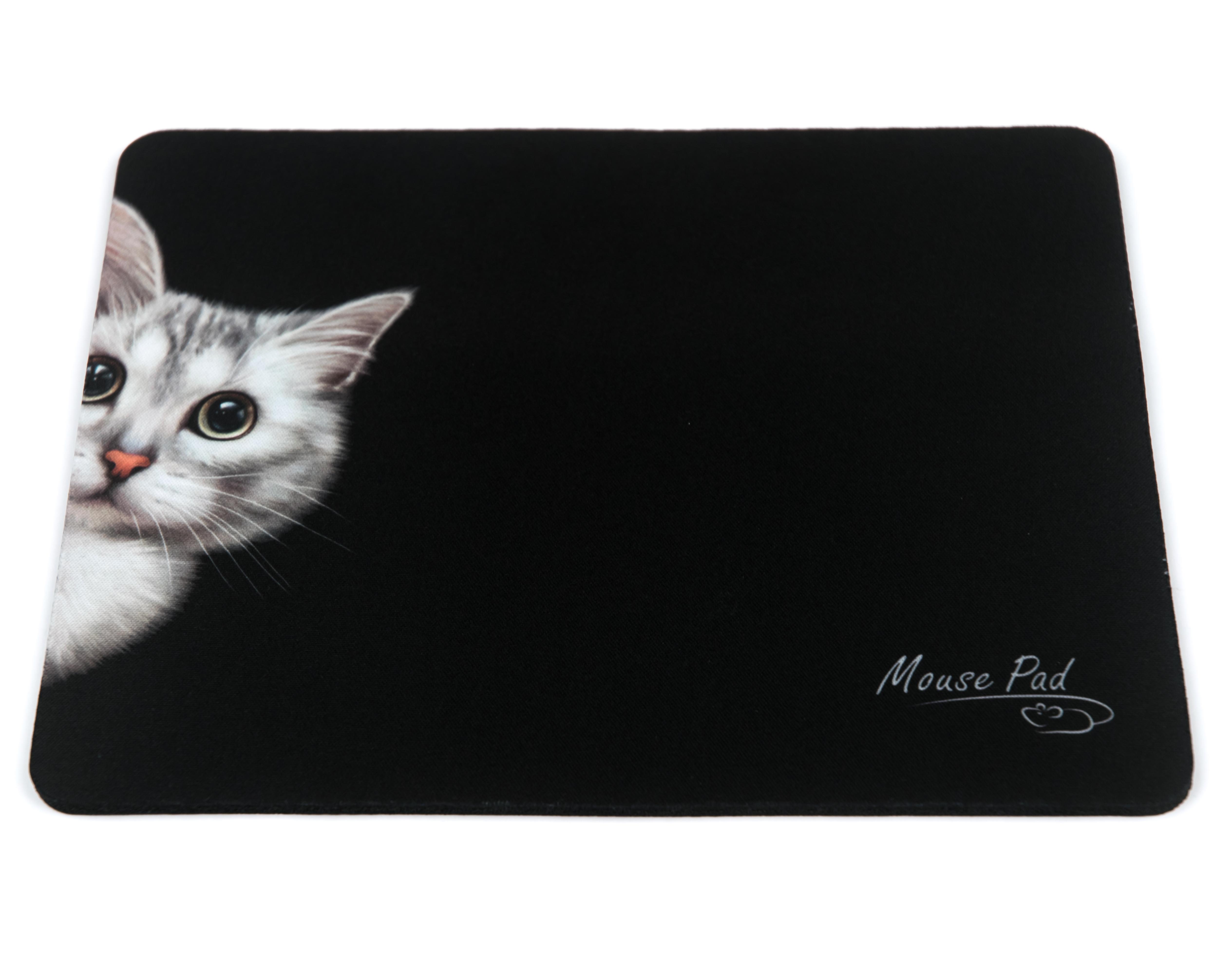 Коврик Dialog, PM-H15 cat, черный коврик для мыши dialog pm h50 черный