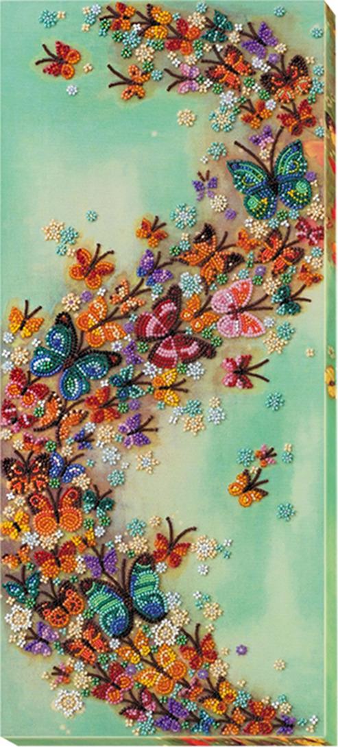 """Набор для вышивания бисером Абрис Арт """"Разноцветный ветер"""", АВ-591, 45 х 20 см"""