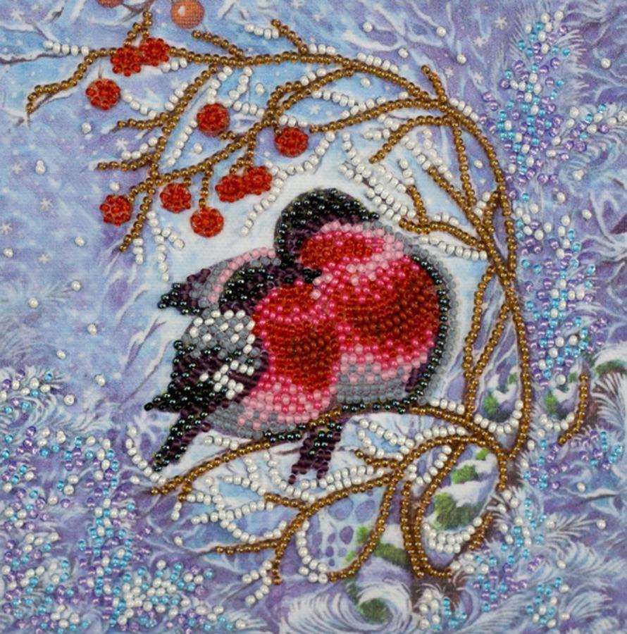 Набор для вышивания бисером Абрис Арт Тепло вдвоём, АМ-183, 15 х 15 смАМ-183В наборе: художественный холст изображением-схемой, стеклянный бисер Preciosa (Чехия), иглы для бисера, подробная инструкция. Количество цветов: 12. Размер: 15х15 см.