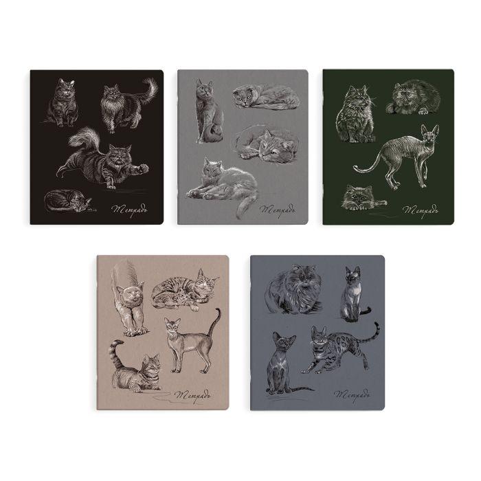 Тетрадь 96л. Феникс+, арт.49545/10, КОШКИ