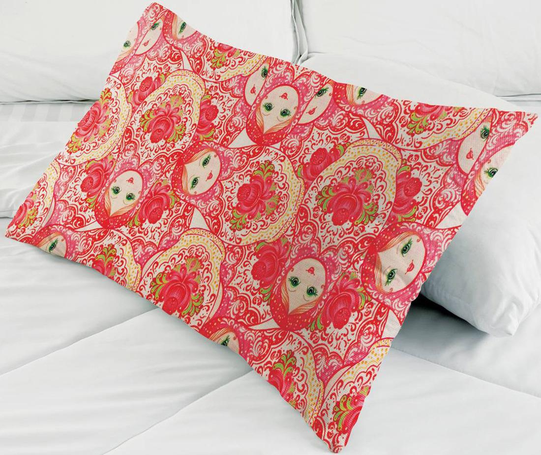 Набор для вышивания наволочки Матренин Посад Русский стиль, 9174, 38 х 58 см наборы для шитья матренин посад набор для шитья и вышивания мороз красный нос