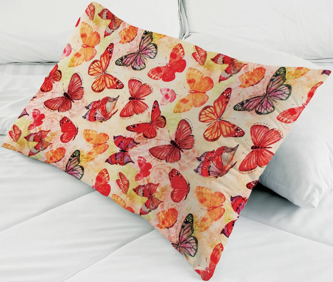 Набор для вышивания наволочки Матренин Посад Солнечные бабочки, 9177, 38 х 58 см наборы для шитья матренин посад набор для шитья и вышивания мороз красный нос