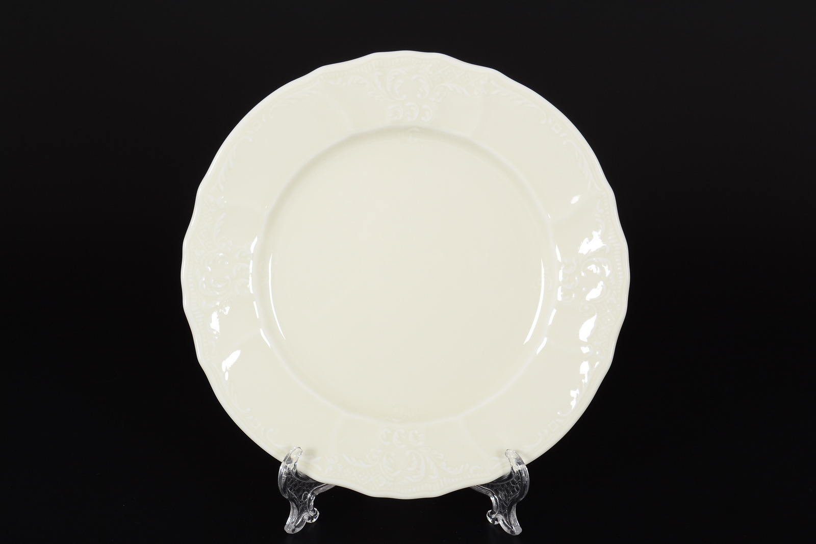 Набор тарелок 19 см Бернадотт Недекорированный BE-IVORY (6 шт)