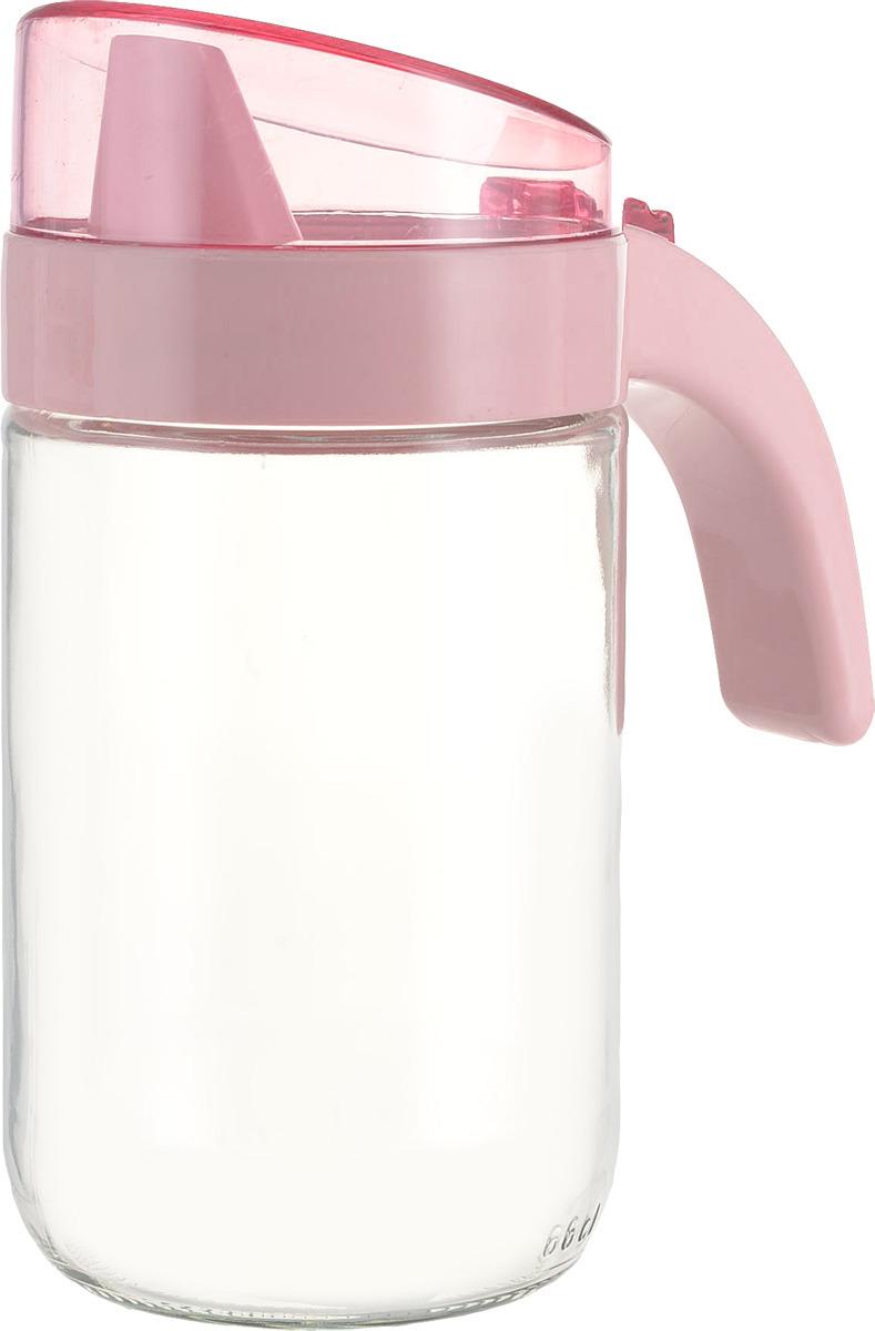 Емкость для масла Herevin с дозатором, 151180-500, розовый, 660 мл емкость для масла kilner 500 мл
