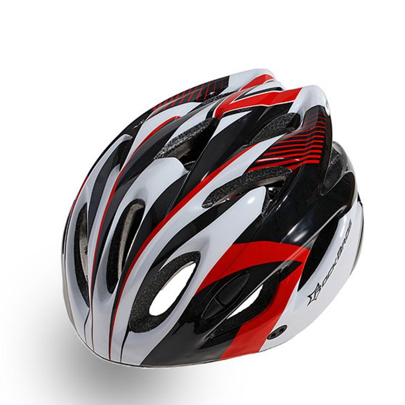 Велошлем Cigna WT-012, 883036, черный, белый, красный, размер 57-62 недорго, оригинальная цена