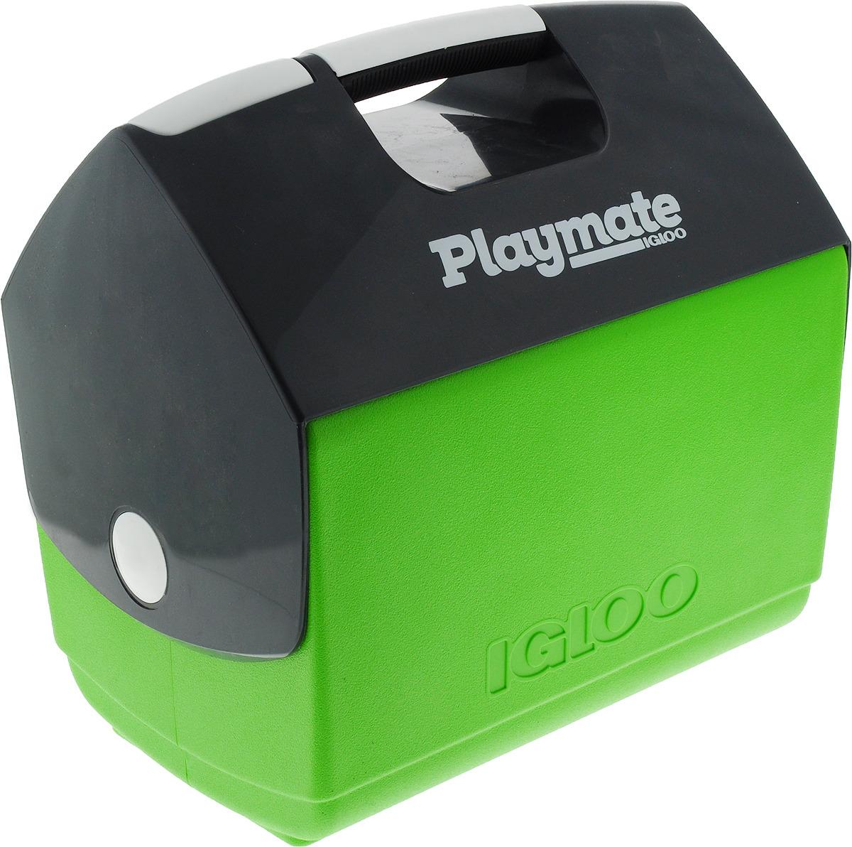 Контейнер Igloo Playmate Elite Ultra изотермический, 32271, зеленый, серый, 15 л igloo изотермический контейнер igloo playmate pal jucetwh
