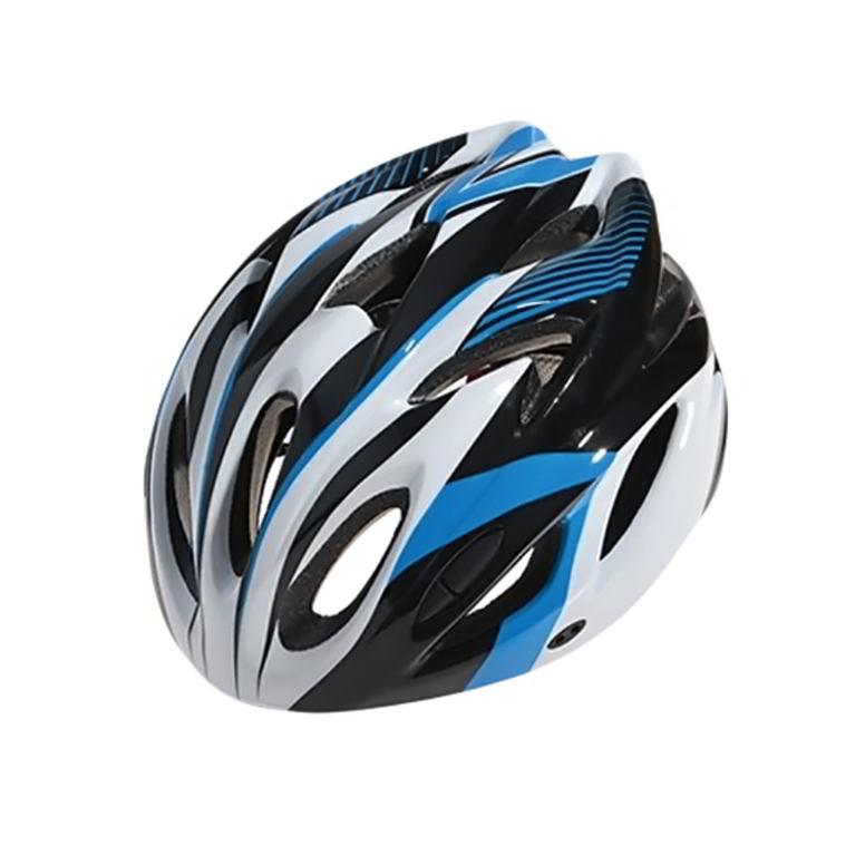Велошлем Cigna WT-012, 883039, черный, белый, синий, размер 57-62 недорго, оригинальная цена