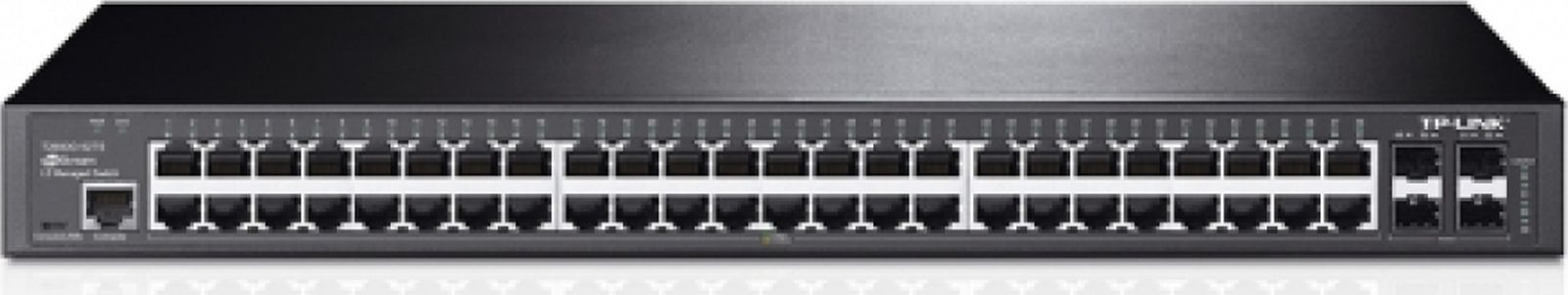 Коммутатор TP-Link T2600G-52TS 48G 4SFP управляемый телефон tp link
