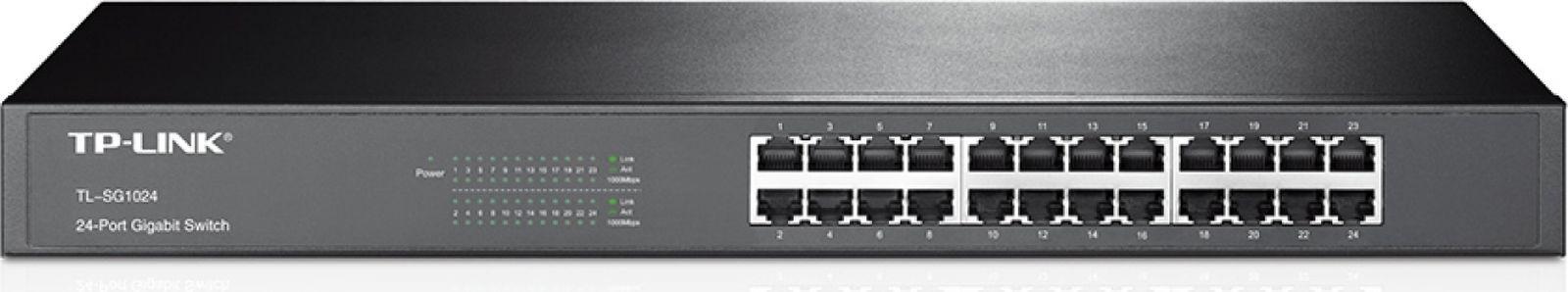 Коммутатор TP-Link TL-SG1024 331474 24G неуправляемый, 331474 tp link tp link tl wr1045nd