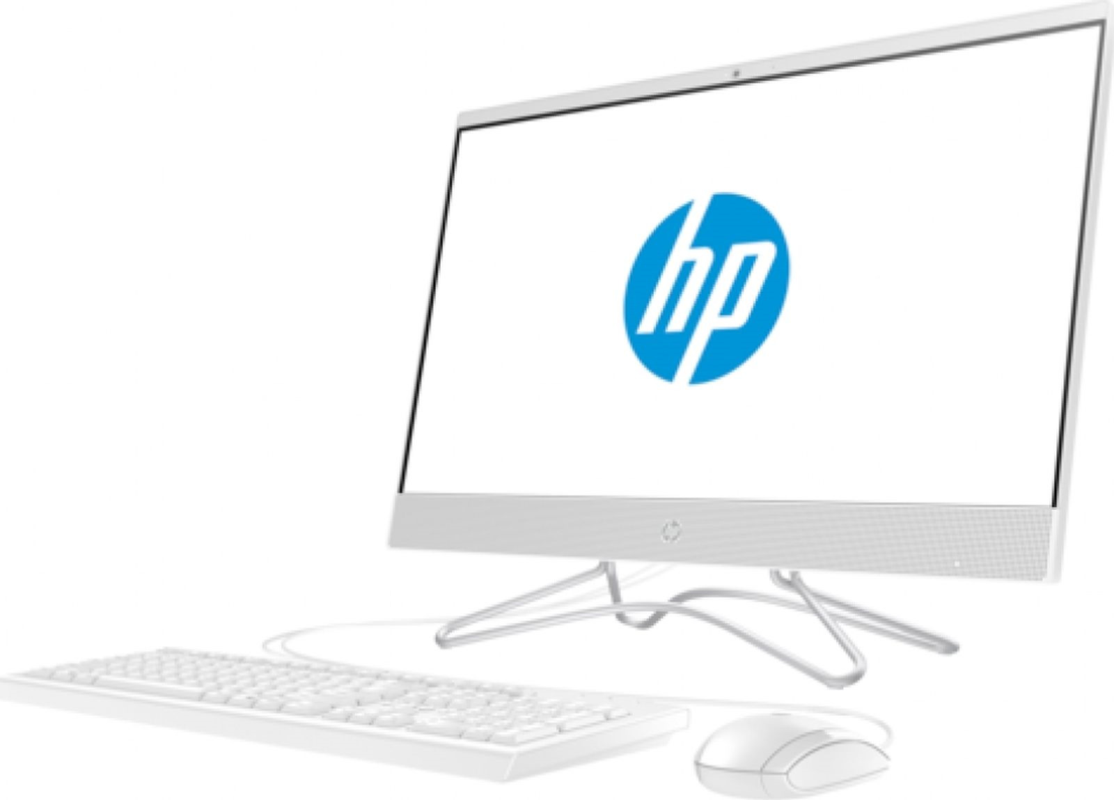 Моноблок HP Pavilion 24-f0041ur, 4GT83EA, 23.8, белый моноблок hp pavilion 24i 24 x005ur 24 fullhd touch core i5 7400t 8gb 1tb kb m win10