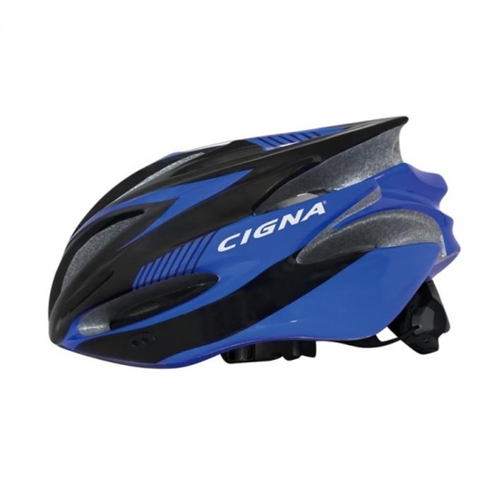 Фото - Велошлем Cigna WT-029, 883031, черный, синий, размер 57-62 костюм алтекс кд 055 мрамор 62 серый черный 62 размер