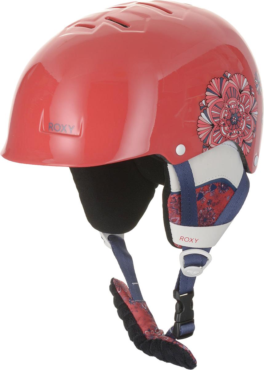 Шлем для горных лыж и сноуборда Roxy HAPPYLAND G HLMT WBB3, цвет: красный. Размер 56