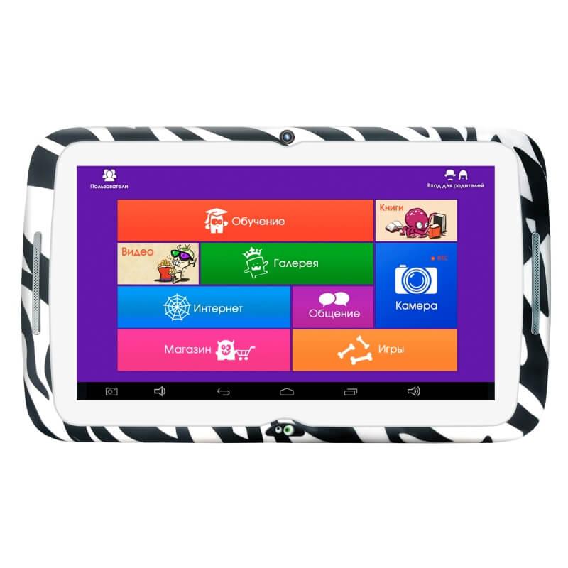 "7"" Планшет Monsterpad РТ00020439 Wi-Fi 8 GB, чёрно-белый"