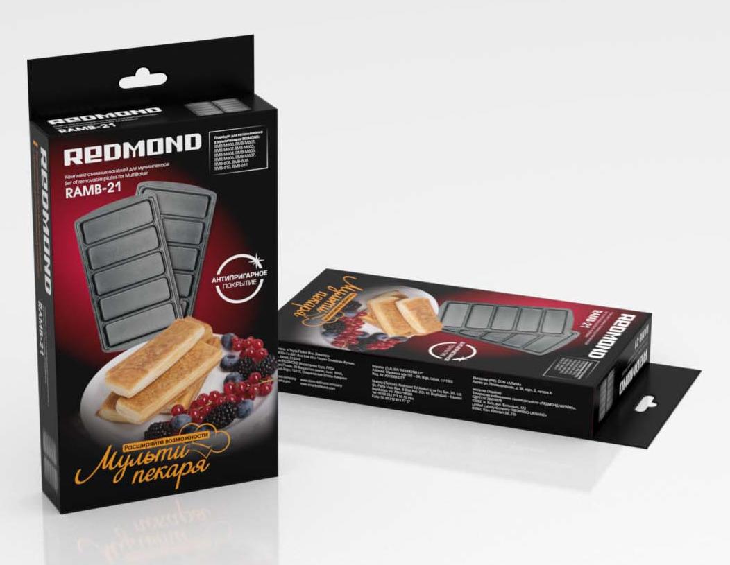 Redmond RAMB-21Сосиски в тесте панель для мультипекаря Redmond