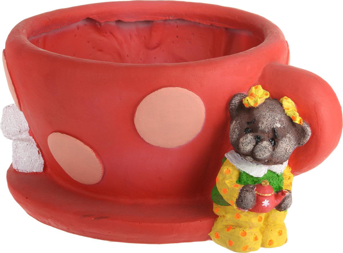 "Зоокашпо ""Чашка с мишкой"", Зкш010"