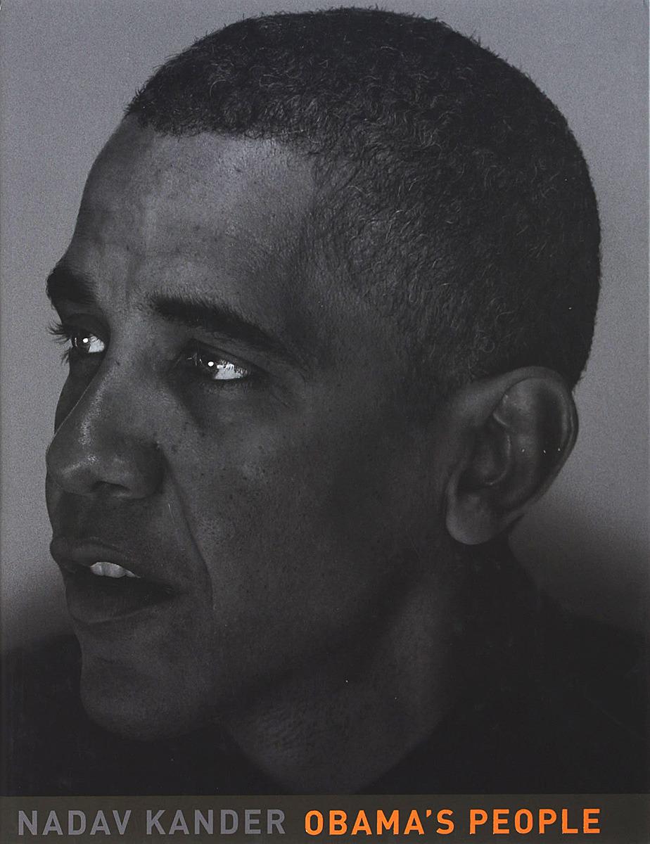 N. Kander Obama's people full page bookmark magnifier