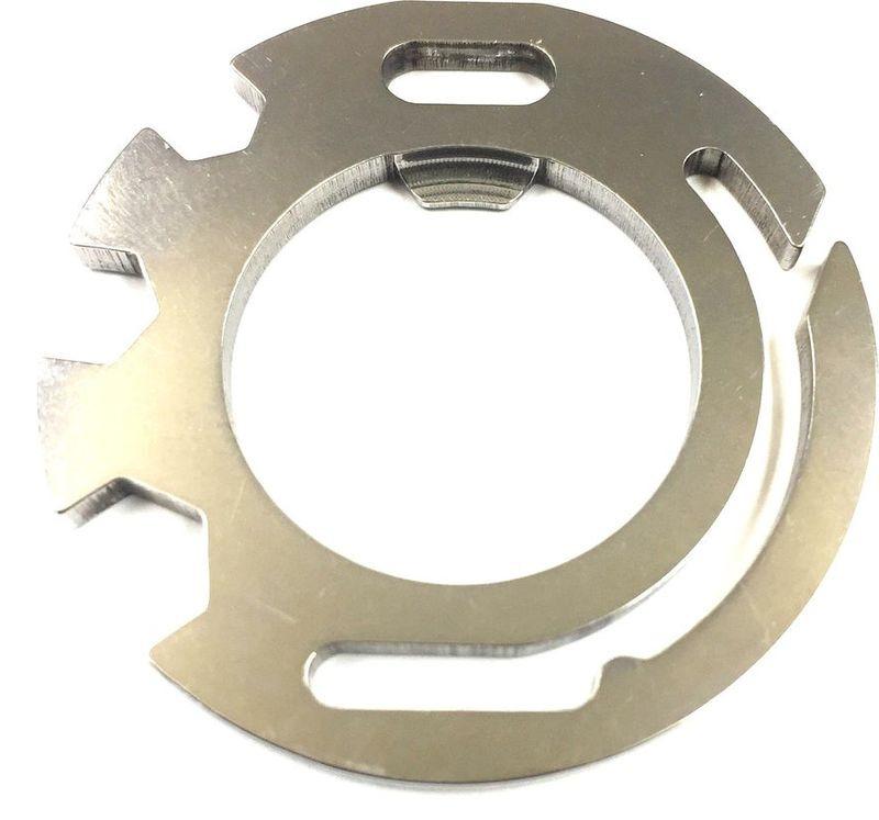 Мультитул Munkees Stainless Round Tools, в форме круга, цвет: серебристый