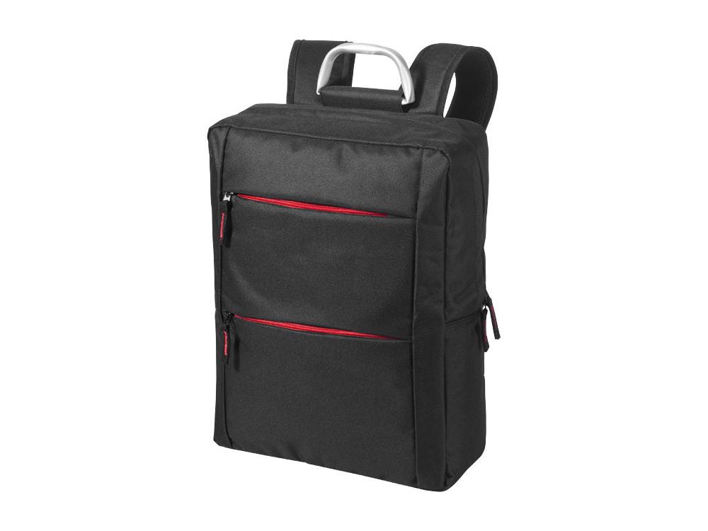 Рюкзак Boston для ноутбука 15,6, черный/красный цена