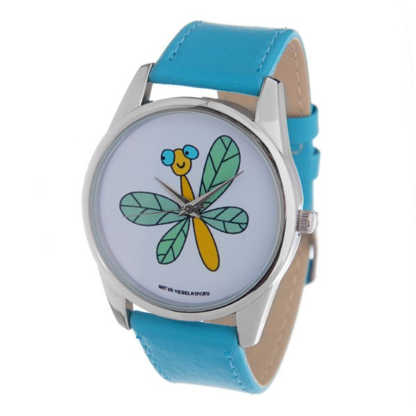 Наручные часы Mitya Veselkov женский голубой все цены