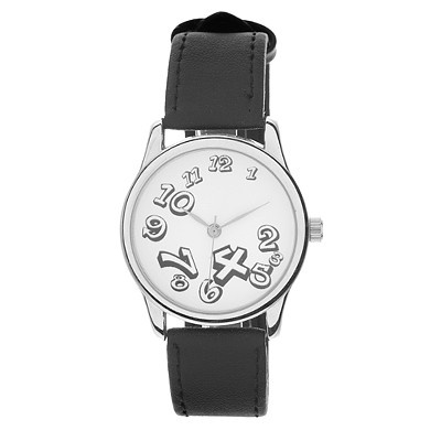 цена Часы Mitya Veselkov черный черный, белый онлайн в 2017 году