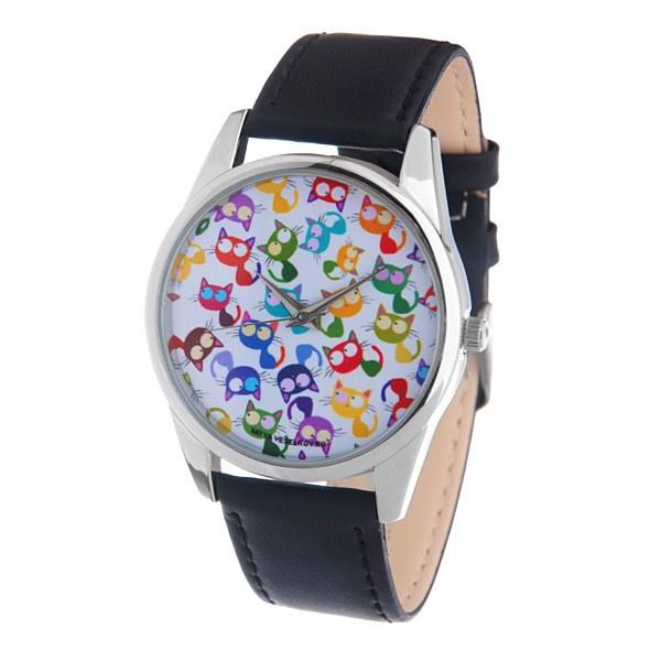 Часы Mitya Veselkov Много кошек Арт. MV-152 все цены