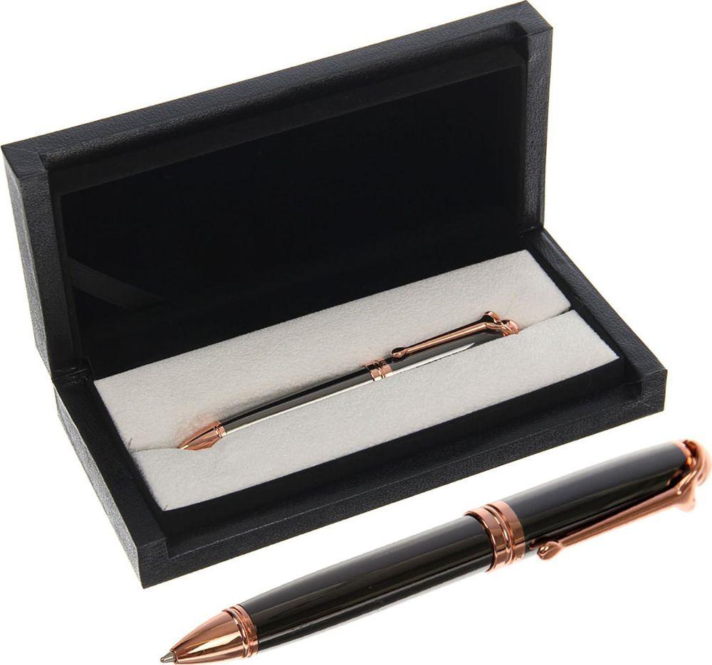Ручка подарочная шариковая Calligrata  Президент , 2409961, в футляре, поворотная, корпус бронза