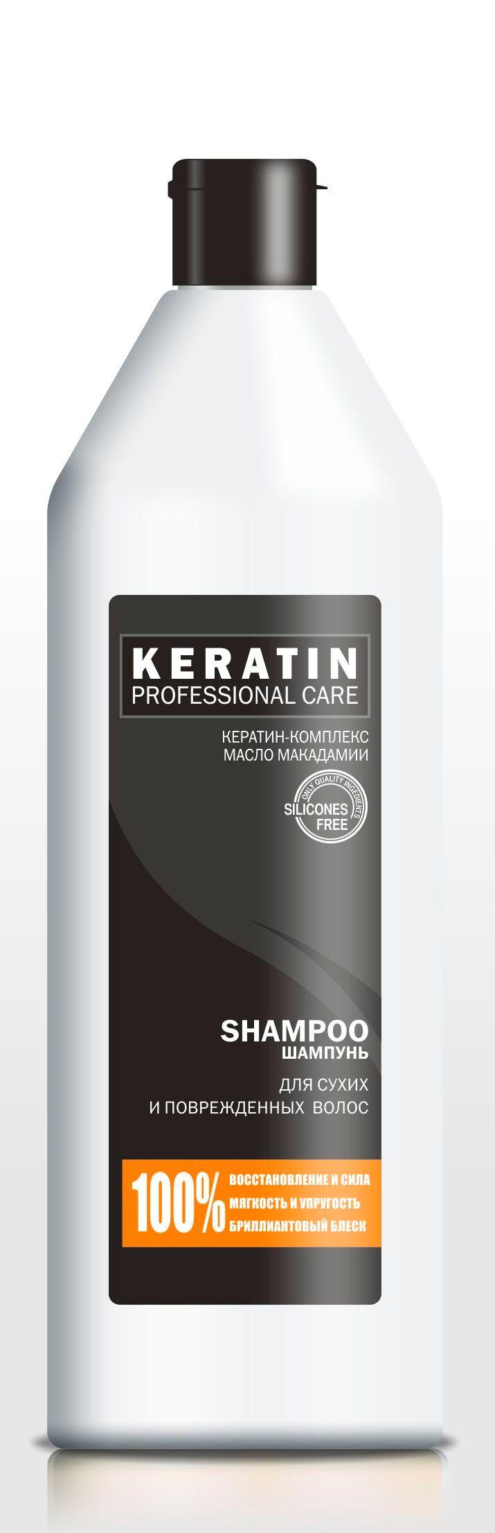 Шампунь для волос PROFESSIONAL CARE KERATIN