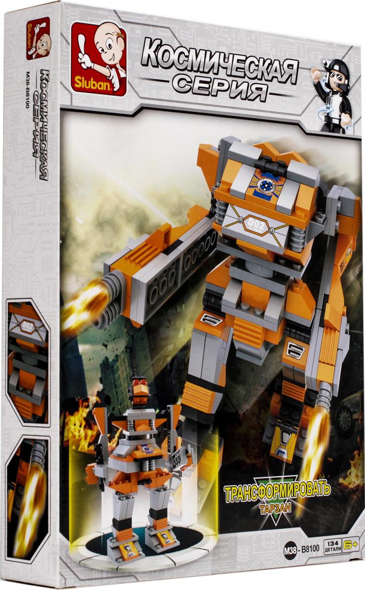 Конструктор Sluban Робот-трансформер Darcdie, M38-B8100 детское лего sluban airbus lego b0366