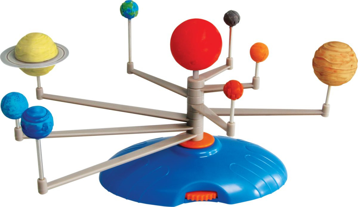 Набор для опытов и экспериментов Edu-Toys Space Science Модель солнечной системы, GE046, разноцветный