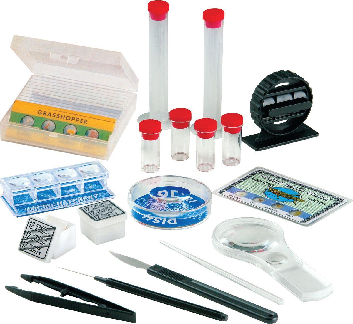 лучшая цена Набор для опытов и экспериментов Edu-Toys Microscope
