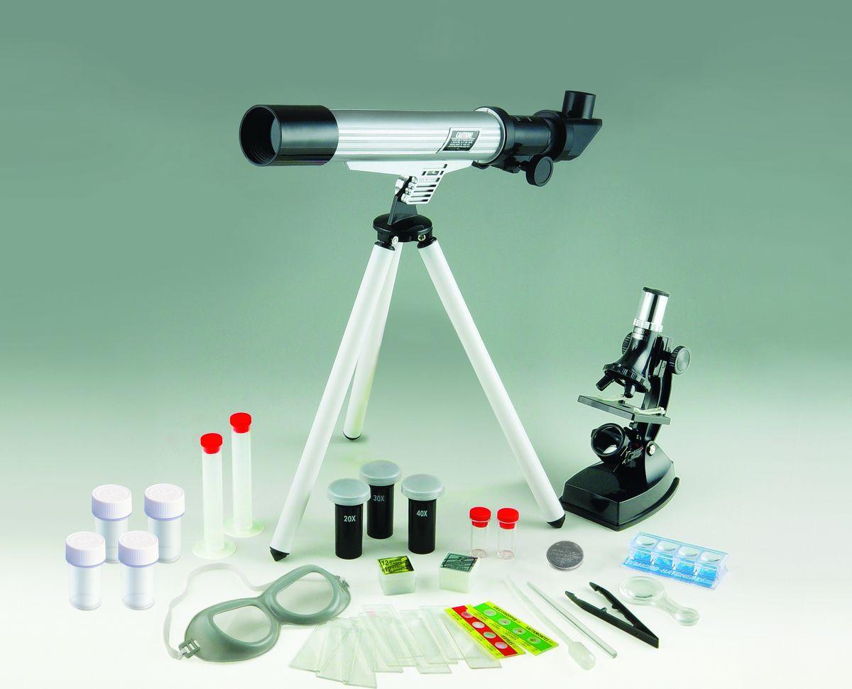 лучшая цена Набор для опытов и экспериментов Edu-Toys Science Kit