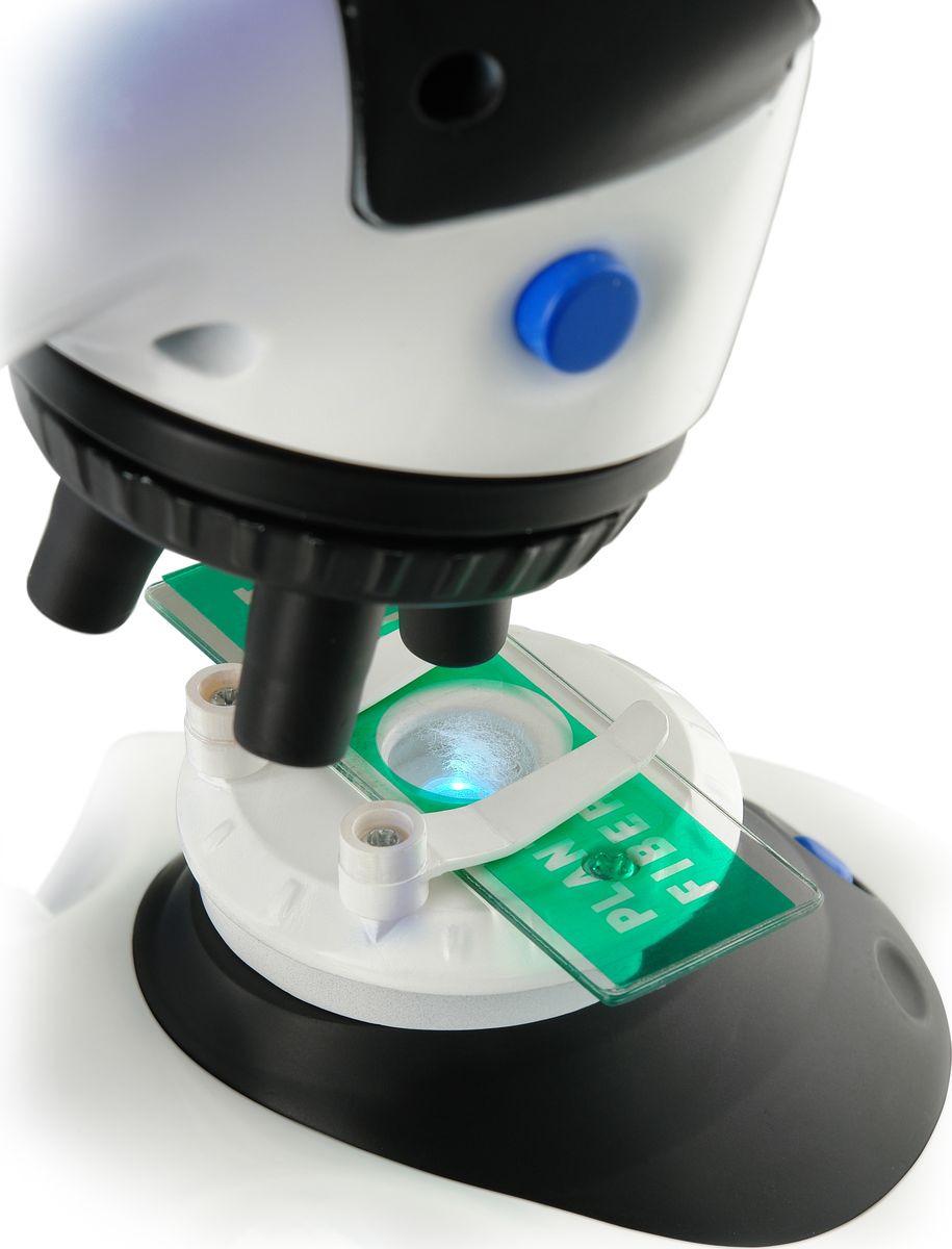 Набор для опытов и экспериментов Edu-Toys Microscope Микроскоп, белый, 100 х 900 набор для опытов и экспериментов edu toys space science модель солнечной системы ge045 разноцветный