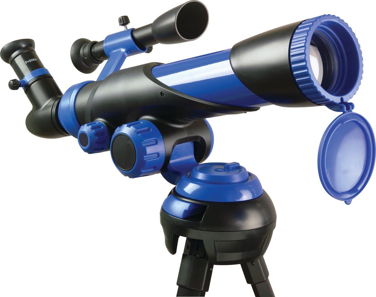 """Набор для опытов и экспериментов Edu-Toys Telescope """"Телескоп"""", TS780, темно-синий, 250 x 60 мм"""