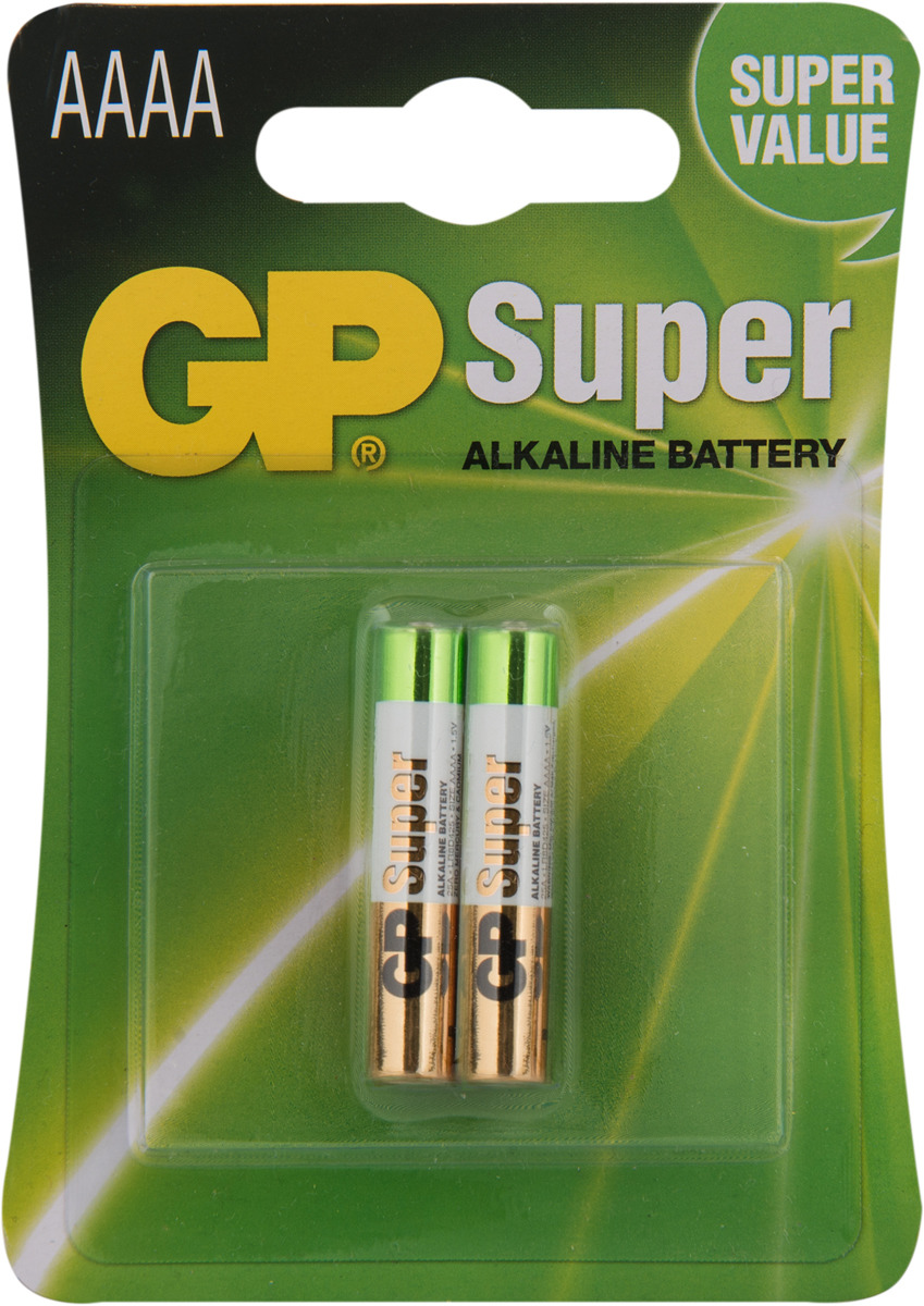 Батарейка GP Batteries 25A-2CR2, 2957, 2 шт ag3 1 55v alkaline cell button batteries 10 piece pack 2 pack set