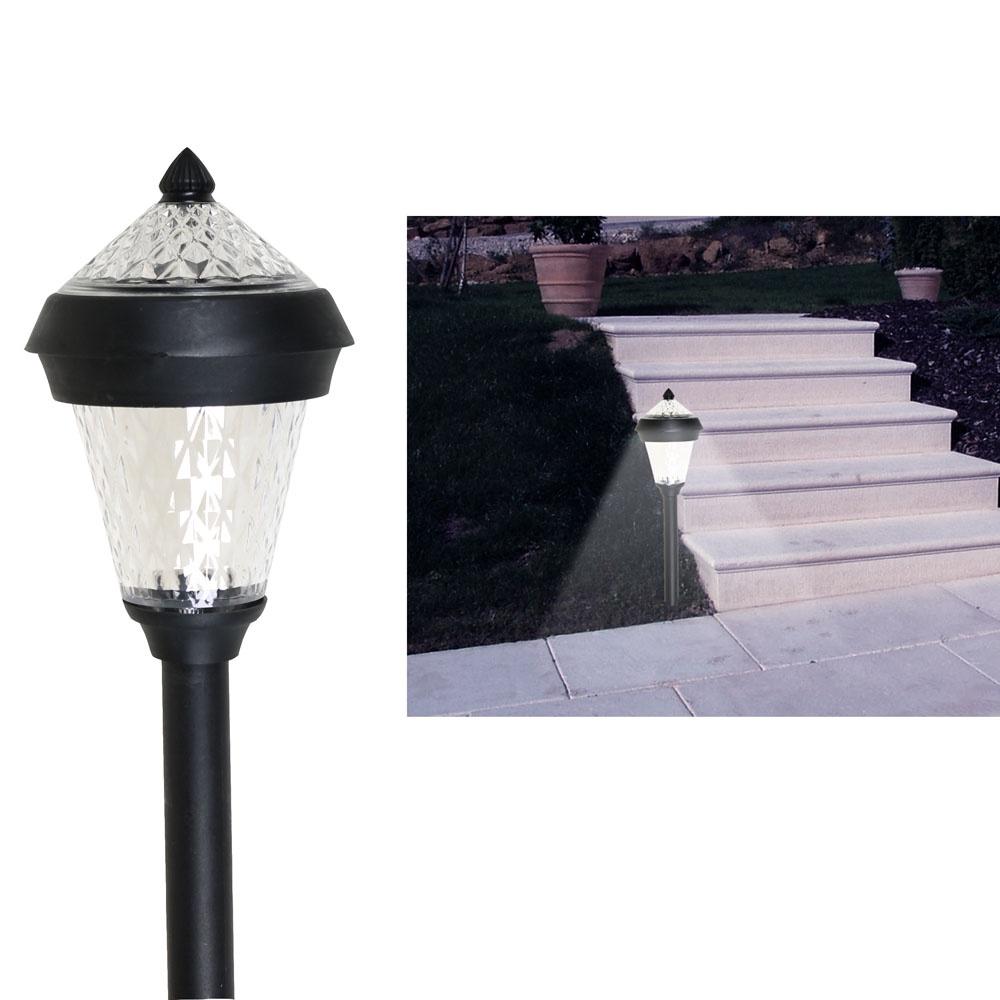 Напольный светильник ХИТ - декор Кристалл, 06137, LED светильники для сада led