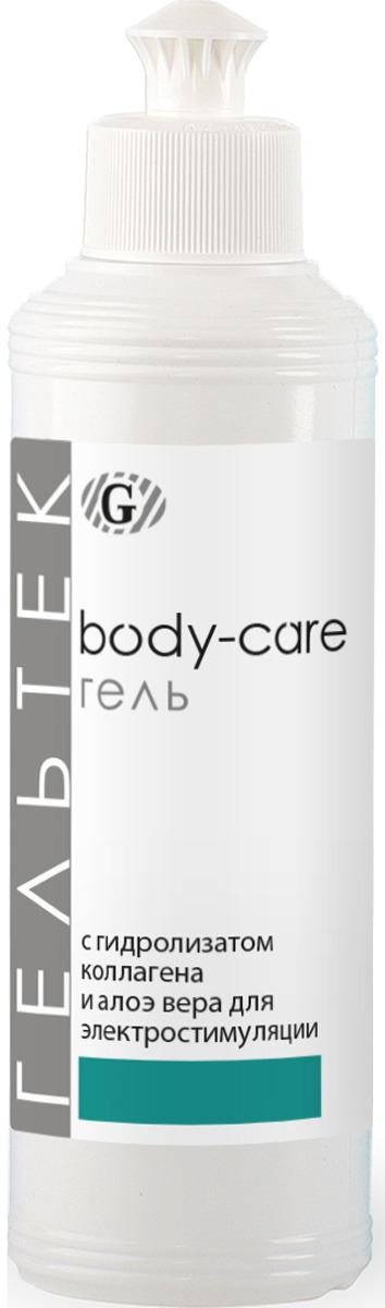 Гель косметический Гельтек Body-Care, с гидролизатом коллагена и алое вера, для ЭМС, 250 мл тоник для кожи гельтек с гидролизатом коллагена и алоэ вера 300 мл