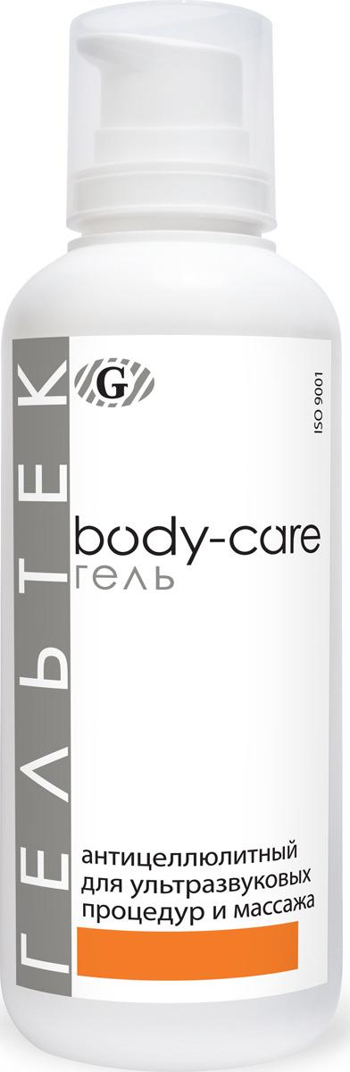 Гель антицеллюлитный Гельтек Body-Care, для ультразвуковых процедур и массажа, 500 мл