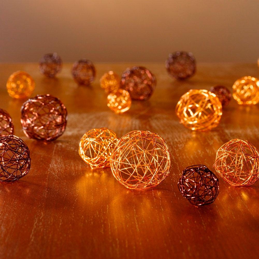Декоративные шары ХИТ - декор Золото и шоколад, 05285, 20 шт н р шаров 6 см 6 шт диско золото