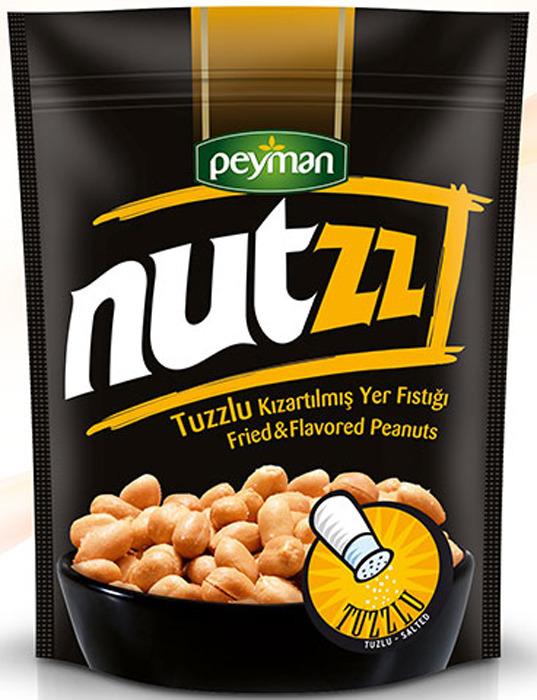 Орехи земляные Peyman Nutzz, жареные, соленые, 40 г