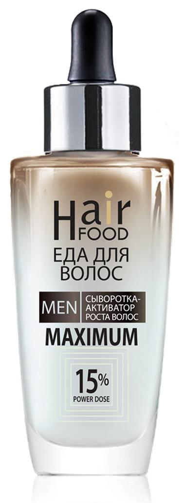 Средство для лечения кожи головы и волос HairFood MEN MAXIMUM 15% средство для лечения кожи головы и волос hairfood дневной фиксатор густоты men medium 7 5