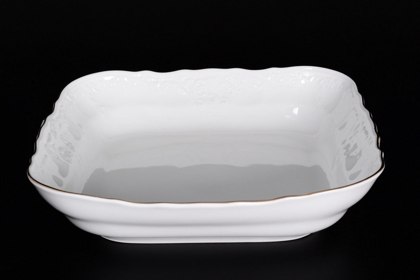 Салатник Bernadotte квадратный, 03631, 25 см
