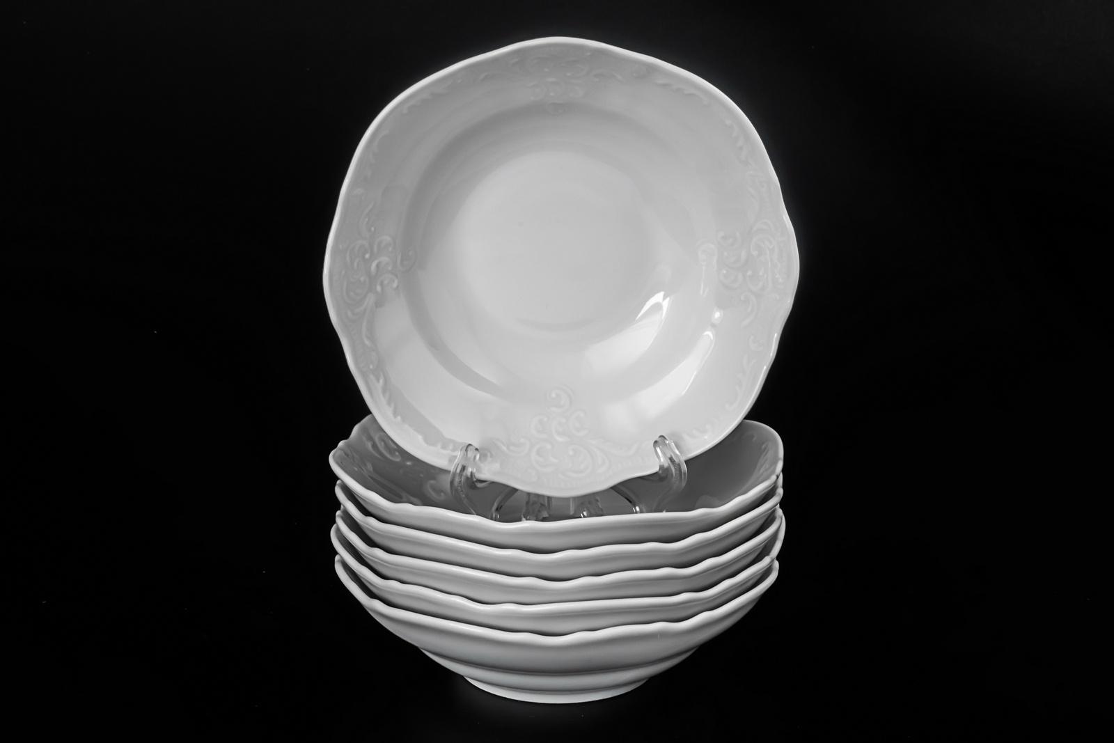 Набор салатников Bernadotte, 11147, белый, 13 см, 6 шт