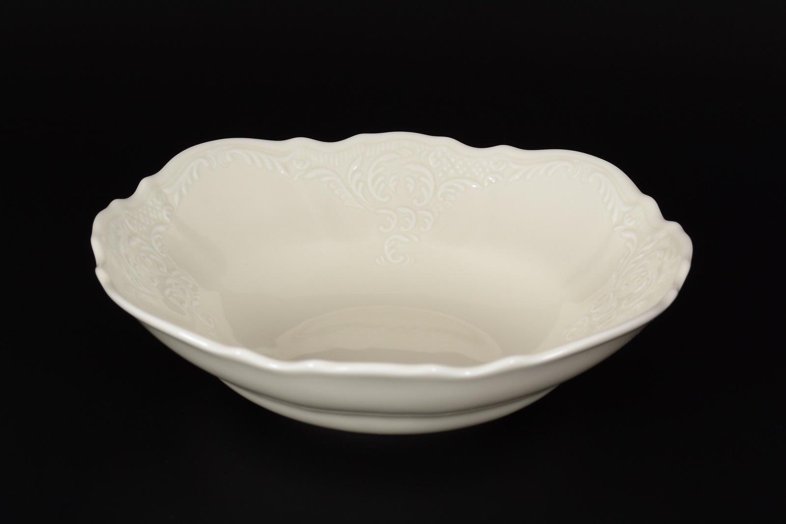 Набор салатников Bernadotte, 28915, белый, 19 см, 6 шт