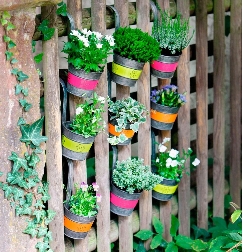 Набор подвесных кашпо Хит - декор Jazzy Flowers, 04953, 3 шт декор bradex автополив для растений флаура