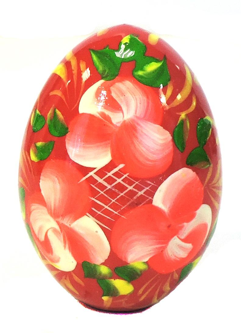 Яйцо пасхальное Taowa Яйцо, 027-120-1, красный