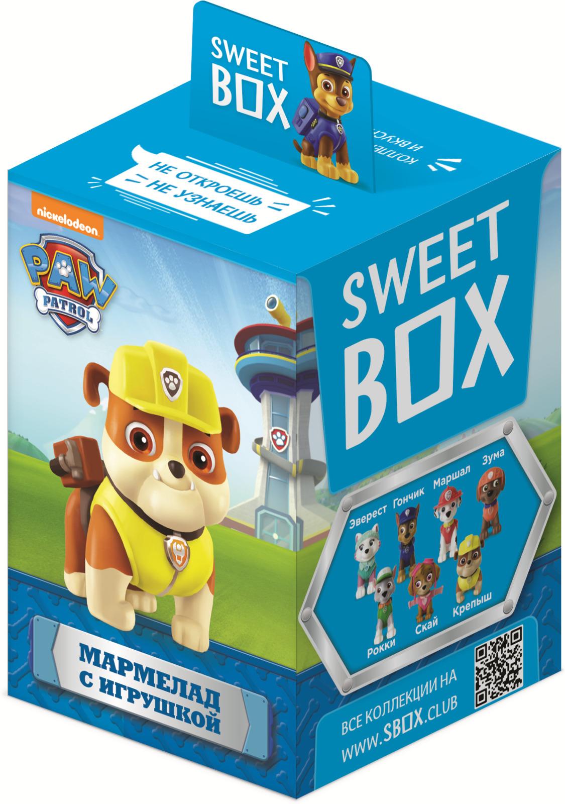 Sweet Box Конфитрейд Щенячий патруль, мармелад с игрушкой, 10 г мармелад конфитрейд щенячий патруль